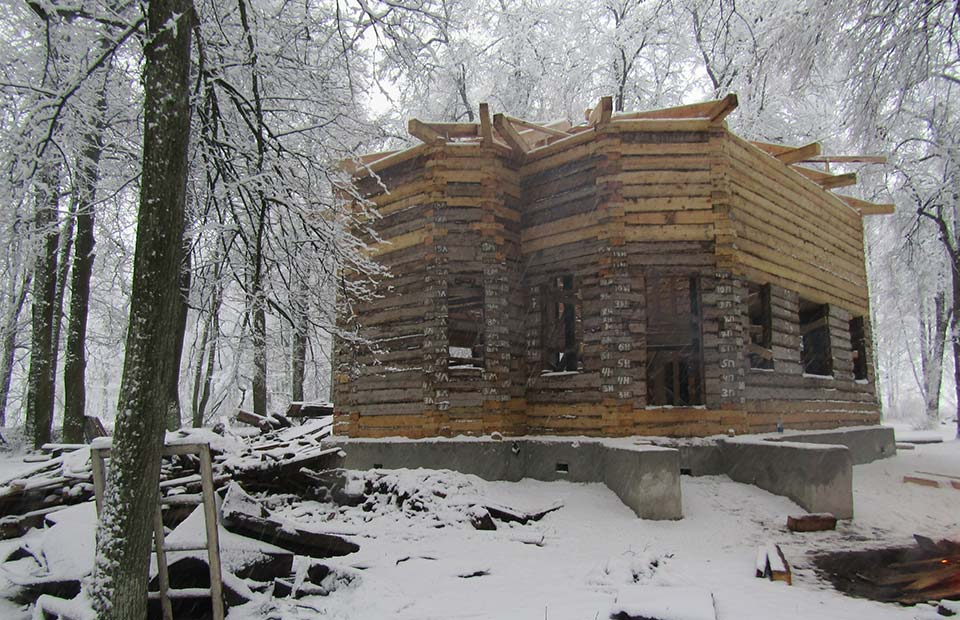 Реставрация церкви в селе Луговец