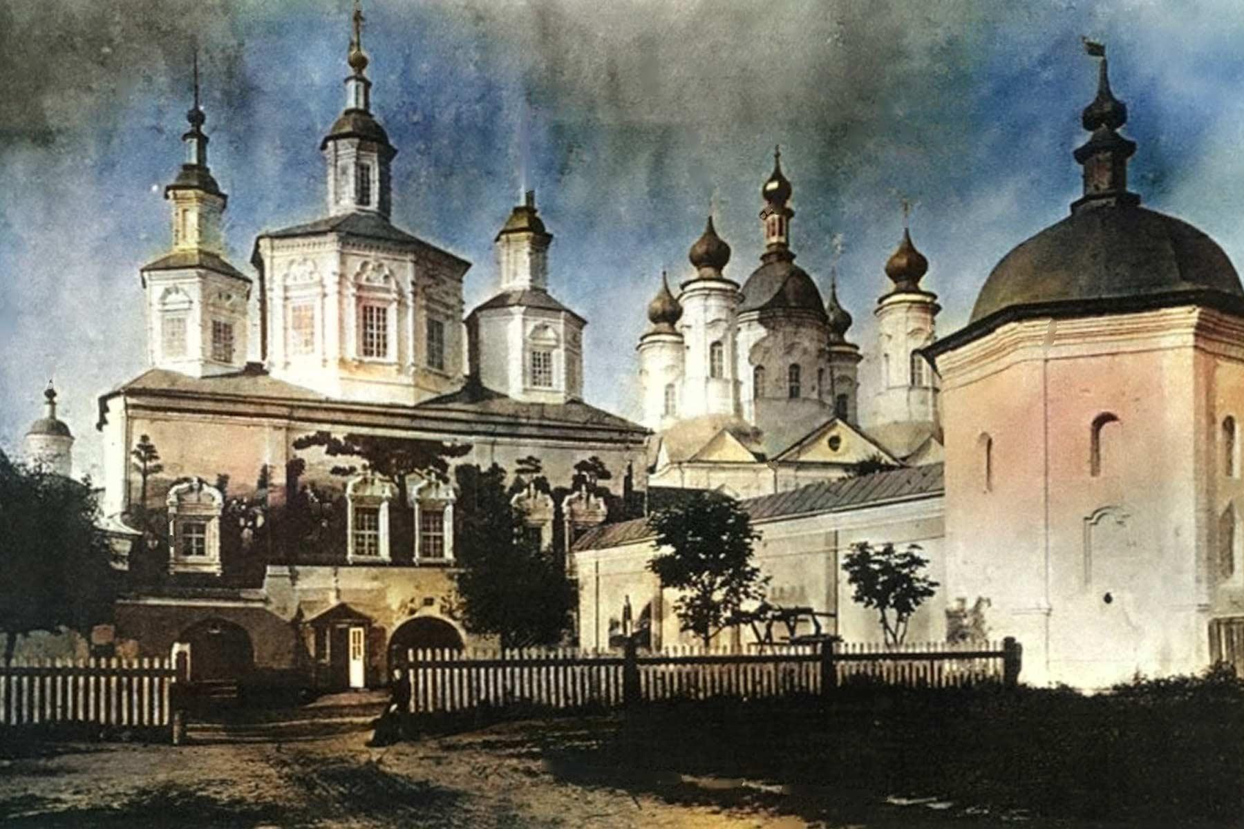 Едем в Свенский монастырь
