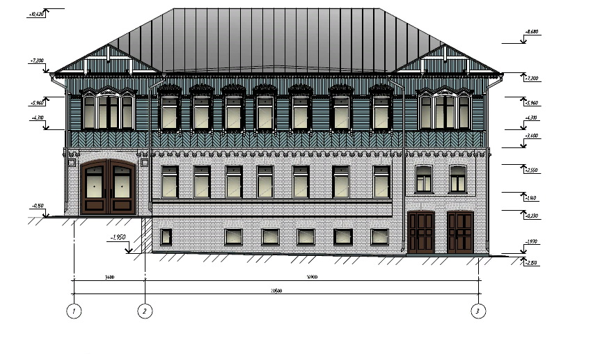 Утвержден проект реставрации дома Боровича на Бульваре Гагарина в Брянске
