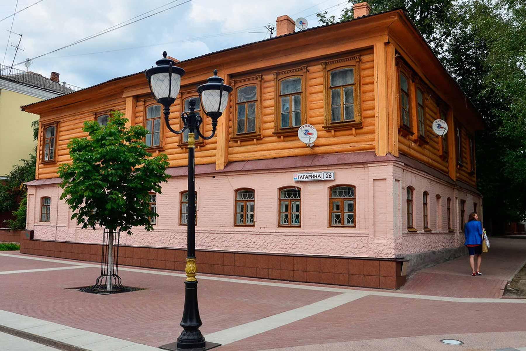 В Брянске отреставрируют исторический дом на бульваре Гагарина