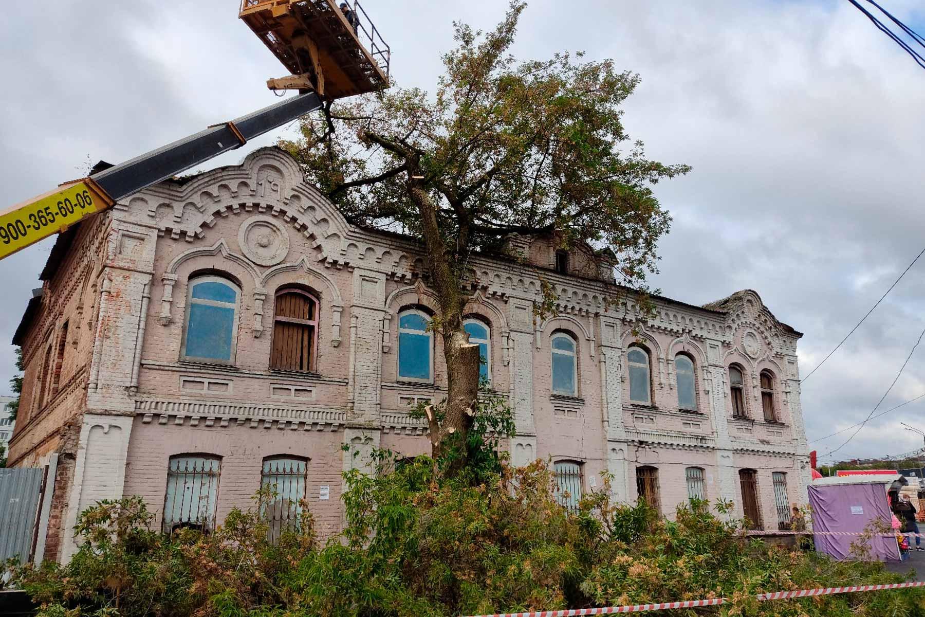В Брянске неизвестный меценат взялся за реконструкцию канатной фабрики Мартынова