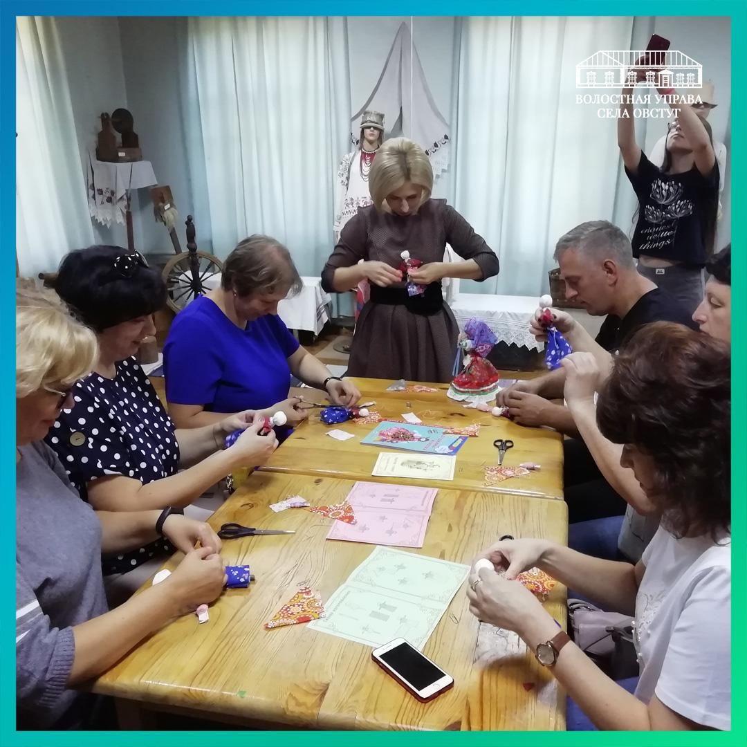 В волостной управе села Овстуг провели очередной мастер-класс