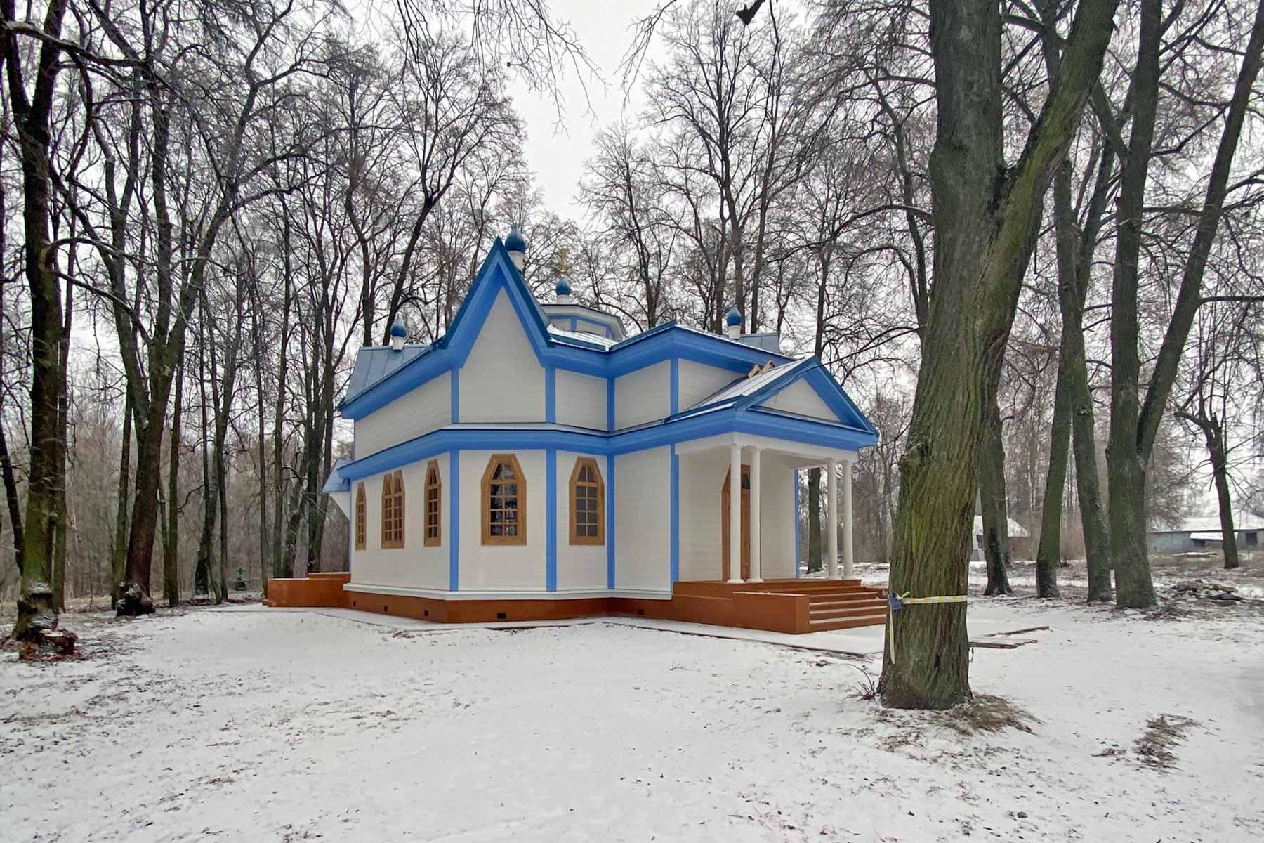 В селе Луговец Мглинского района Брянщины восстановили церковь Николая Чудотворца